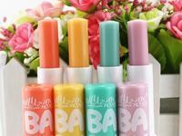 4pcs/lot hengfang angle baby  light color lip balm