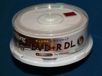 A+ quality 25 discs Blank Printable DVD+R DL 8x Dual Layer 8.5GB D9 dvd dl