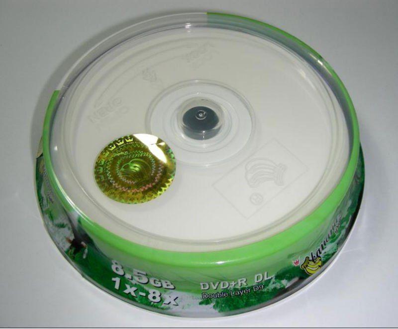 10 pack A+ quality Blank Printable DVD+R DL 8x Dual Layer 8.5GB D9 dvd dl(China (Mainland))