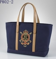 Hot and double shoulder bag canvas bags wholesale POLO female models bag a generation of fat