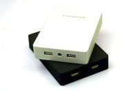 Hong Kong Coolook PB-2000 Replaceable battery 4 x 18650 External Battery Charger Power Bank Box Free shipping --no battery