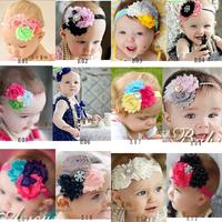 Fashion flower bow baby female child hair accessory hair band hair accessory hair accessory