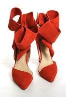 Free shipping 2014 new arrival Sophia webster Abdul Jillil bow pumps women genuine leather shoes jc wedding shoes jc heels