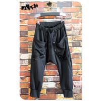 New Arrival Rivet Casual Capris Design Super Hot Loose Harem Short Pants Health Trousers Slim Fit Korean Design Summer Male