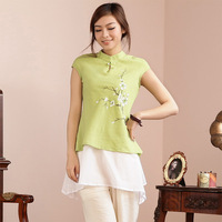 220 tang suit women's summer 2014 fluid trend chinese national style women's cheongsam top