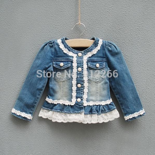 Детские Джинсовые Куртки Для Девочек