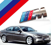 Free Shipping High Quality 3D Car Sticker for BMW Metal Car Decoration Badge For BMW M Series