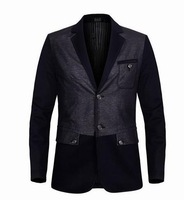 2014 Men Business Fashion Western Style Brand Suit Jackets