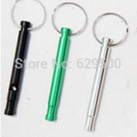 DHL shipping Pet Training&Behaviour Aids Pet Dog Training Key Chian Whistle Keychain Wholesale Store 500pcs/lot
