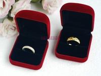 Подарочная коробка для ювелирных изделий 12pcs/lot BlueJewelry 4x4x3cm & Jewelry Display  323