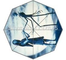 Pesadelo Antes do Natal Personalizado Jack Skellington imagem para impresso Auto dobrável guarda-chuva ! Venda quente ! transporte livre!(China (Mainland))