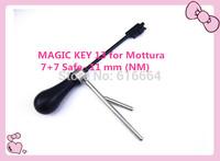 free shipping  2014 new product  MAGIC KEY 13 for Mottura 7+7 Safe- 11 mm (NM)  car locksmith tools