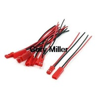 RC Plane Car Li-Po Battery JST Male Female Connector Wire 22AWG 100mm