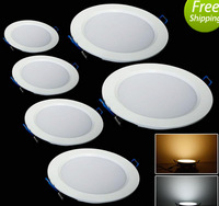 NEW 24W Circular LED Panel Lights AC 85-265V Ceiling Down Lights ,Floodlights
