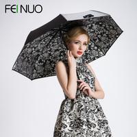 Free shipping Rose small protected super sun umbrella outdoor best brand umbrella