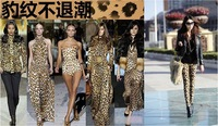 free shipping ! Hot sale New 2014 sexy leopard Print Leggings stretchy slim pants women's fashion tiger
