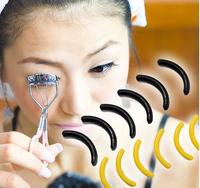 FREE SHIPPING Curlers replacement pads antibacterial material  12pcs  muticolor eyelash curler pads soft [9901756]