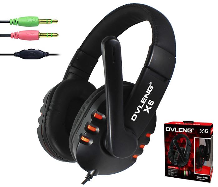 X6 High Quality NdFeB Hi Fi Speakers Surround Gaming Headset Stereo Bass Headphone Earphone With Micphone For Computer Gamer(China (Mainland))