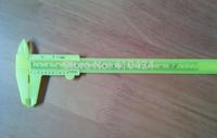 20pcs/lot New  Plastic Vernier Caliper Micrometer Utility Experiment teaching Measuring Tool Accessories 0-150mm