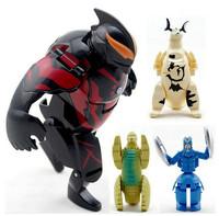 cartoon figurine egg shape transformer robot cute dinosaur egg lovely kids toys for boys free shipping