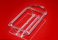 semiconductor/optical using  quartz glass boats/quartz glass processing instruments/customized to your request drawing