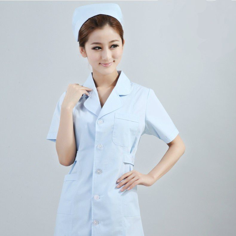 Nurse Dresses Uniforms White Nurse Uniform White Pink Blue