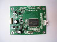 "VGA+2AV driver board for 3.5"" LCD LQ035NC111"