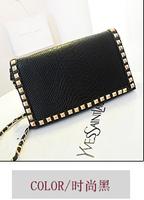 2014 Spring Korean brand new limited edition handbag fashion handbags wholesale rivets package