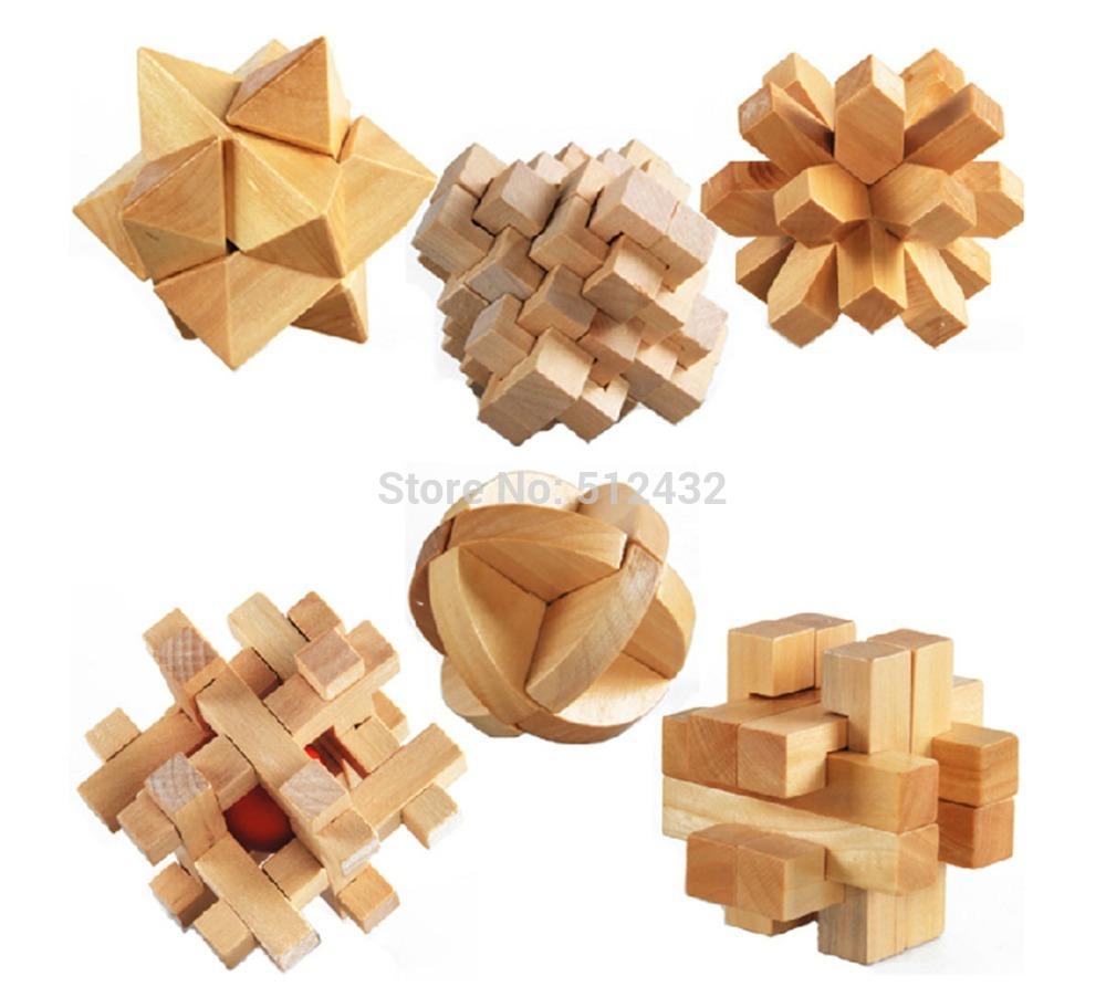 3d Wooden Puzzles 3d Wooden Cube Brain Teaser