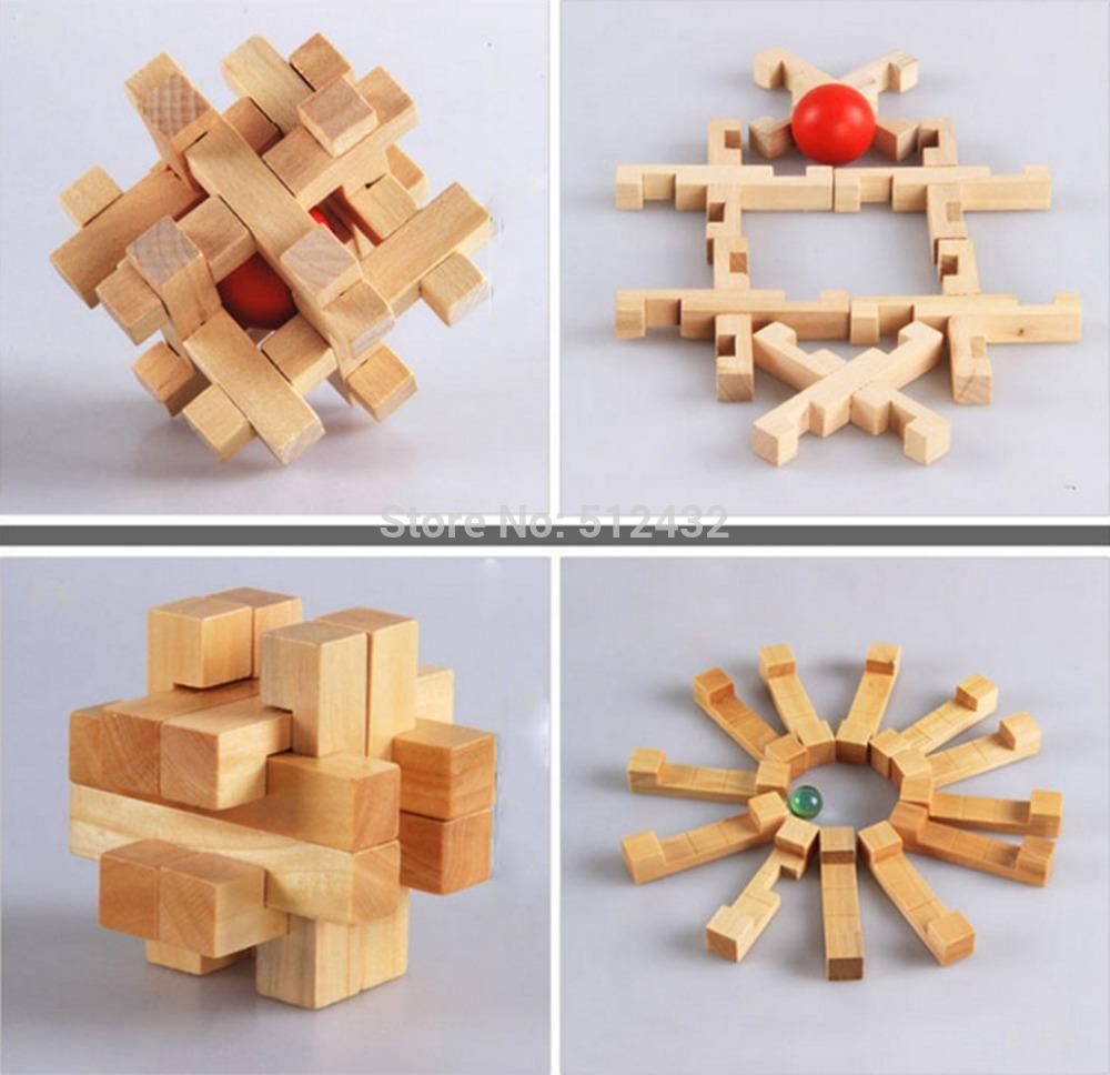 3d Wooden Cube Puzzles 3d Wooden Cube Brain