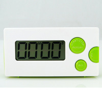10pcs small size cute fashion kitchen timer digital clock reminder with magnetic household timer memory set kitchen timers