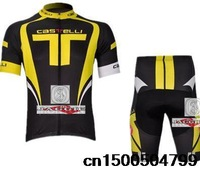 Free shipping! CASTELLI 2014 #2 team cycling jersey and shorts / short sleeve jerseys pants bike bicycle riding wear set