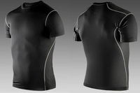 High Quality Men Sport Suit  Body Suit Sport Swimwear Quick-Dry T Shirt for Outdoor Sport ,Running