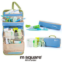 Hot Selling 2014 New High Quality Foldout Cosmetic Organizers Storage Bags of Toiletry Kit for Travel Free Shipping