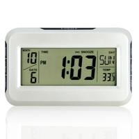 Multifunctional big screen acoustic control sensing alarm clock thermometer music alarm clock home clock w/calendar, temperature