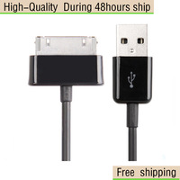 High Quality Original USB Sync Cable for Samsung Galaxy Tab 7.0 Plus / P6200 / Galaxy Tab 7.7 Free Shipping UPS DHL CPAM HKPAM