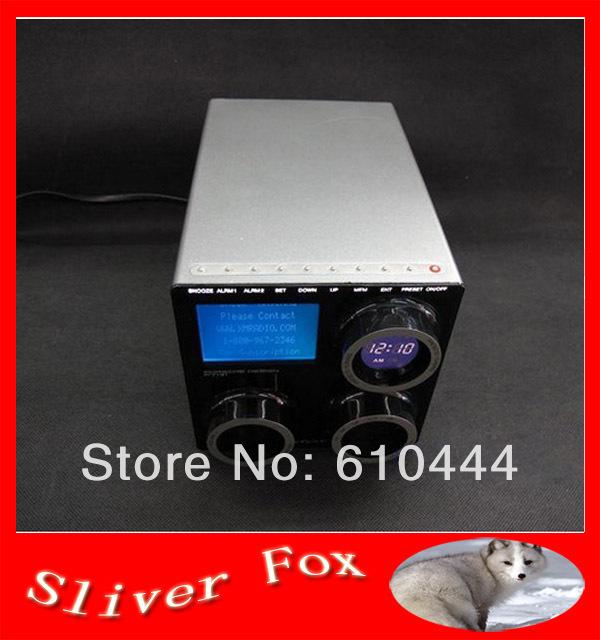 Livraison gratuite original dhl/ems. p7131 stéréo de haute qualité multi- band radio enceintes d'ordinateur design by p ou sche am fm