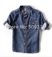 2014 new kids shirts,children clothing,100% cotton shirt,jacket,blouses,boy's shirt, baby wear,boy clothing free shipping