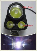 Motorcycle 12V 24V 36V 40V 60V 80V 85V LED Fog Spot Head Light Lamp Spotlight Bright White 12W New