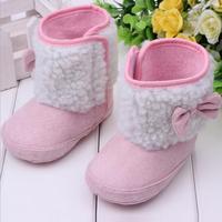 2014 New Wholesale Korean Style Fashion Winter Baby Kids Girl Boy Shoe Boot High-Hatta 0280