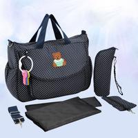 2014 baby diaper bags bolsa maternidade Nnappy bag women Maternity mummy bag women handbag shoulder bag free shipping