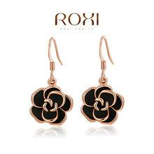 ROXI fashion new arrival, genuine  Austrian crystal,fashion rose Earrings,women trendy earringsChrismas/Birthday gift