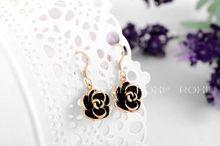 ROXI fashion new arrival genuine Austrian crystal fashion rose Earrings women trendy earringsChrismas Birthday gift 2020001310