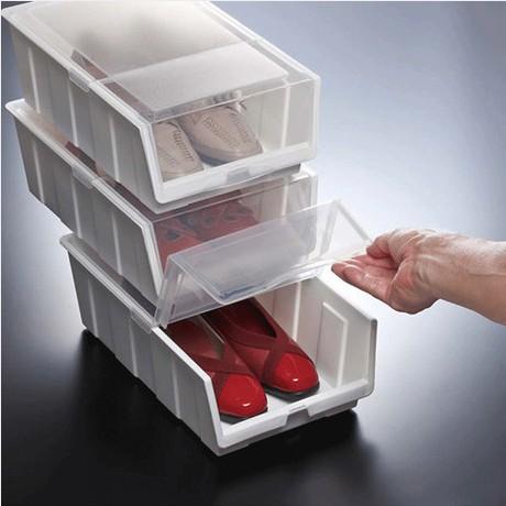 Free shipping new 2014 ikea plastic storage box acrylic makeup organizer  box for shoes Smoked pull. Makyaj D zenleyici Ikea   jacquelinegaray com