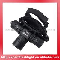 1200 Lumens RH07 Cree XM-L2 U2 1-Mode Diving Headlamp (1 x 18650)