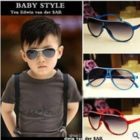 Free shipping 2014 New Fashion Children Sunglasses  Boys Girls Kids Baby SunglassesGoggles UV400 Protection Glasses