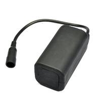 Free Shipping Waterproof 8.4V 4x18650 Battery Pack (Samsung 2800mah Cell Inside) For Led Bike Lights & Headlamp