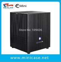 Realan Aluminum  Mini  ITX Case E-M3 Mini Cube Htpc Computer