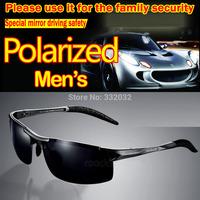 2014 New Fashion Summer Sport Male Sunglasses Polarized glasses aluminum magnesium alloy Polaroid Sunglasses Drving Oculos Gafas