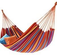 Free shipping new 2014 Canvas ramak Outdoor hammock canvas single hammock garden swing outdoor furniture  outdoor swing